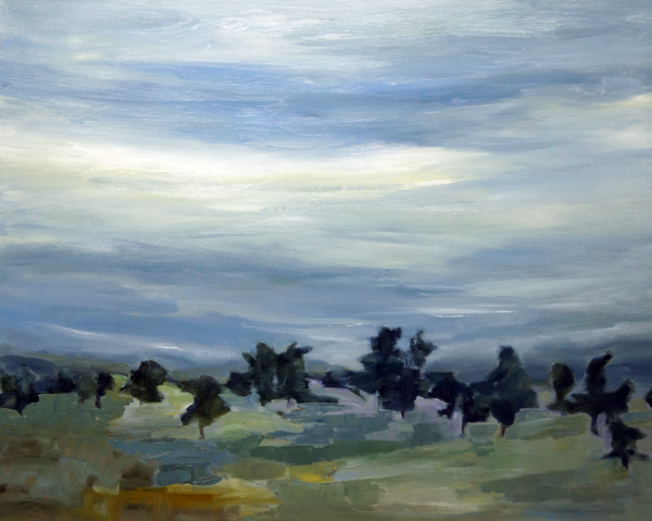 Landscape Love Song X, 30x30, Oil on Linen