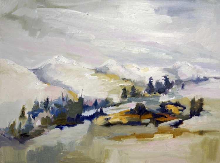 Colorado State of Mind, 18x24, Oil, Sold