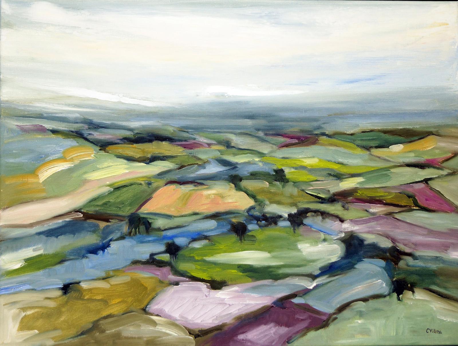 Hudson Valley, 18x24, Oil, Sold
