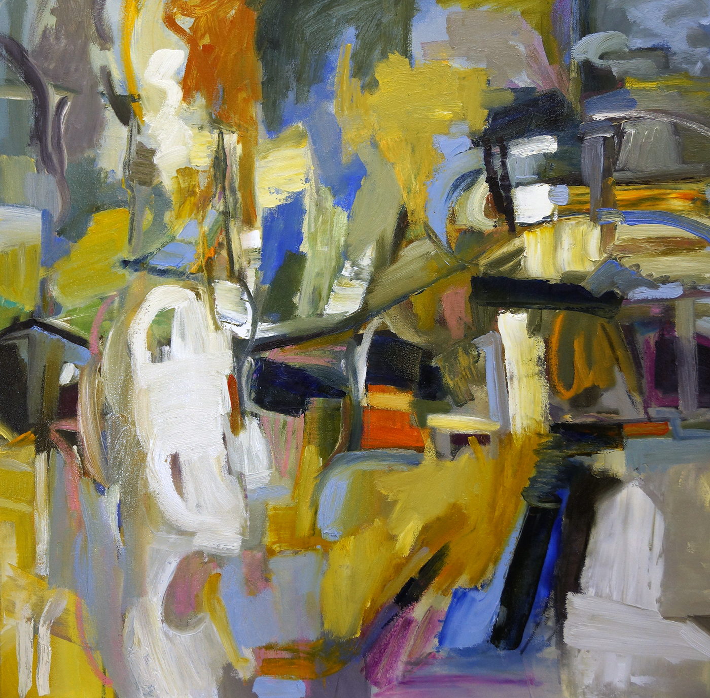 Urban Waterfront, 36x36-Sold