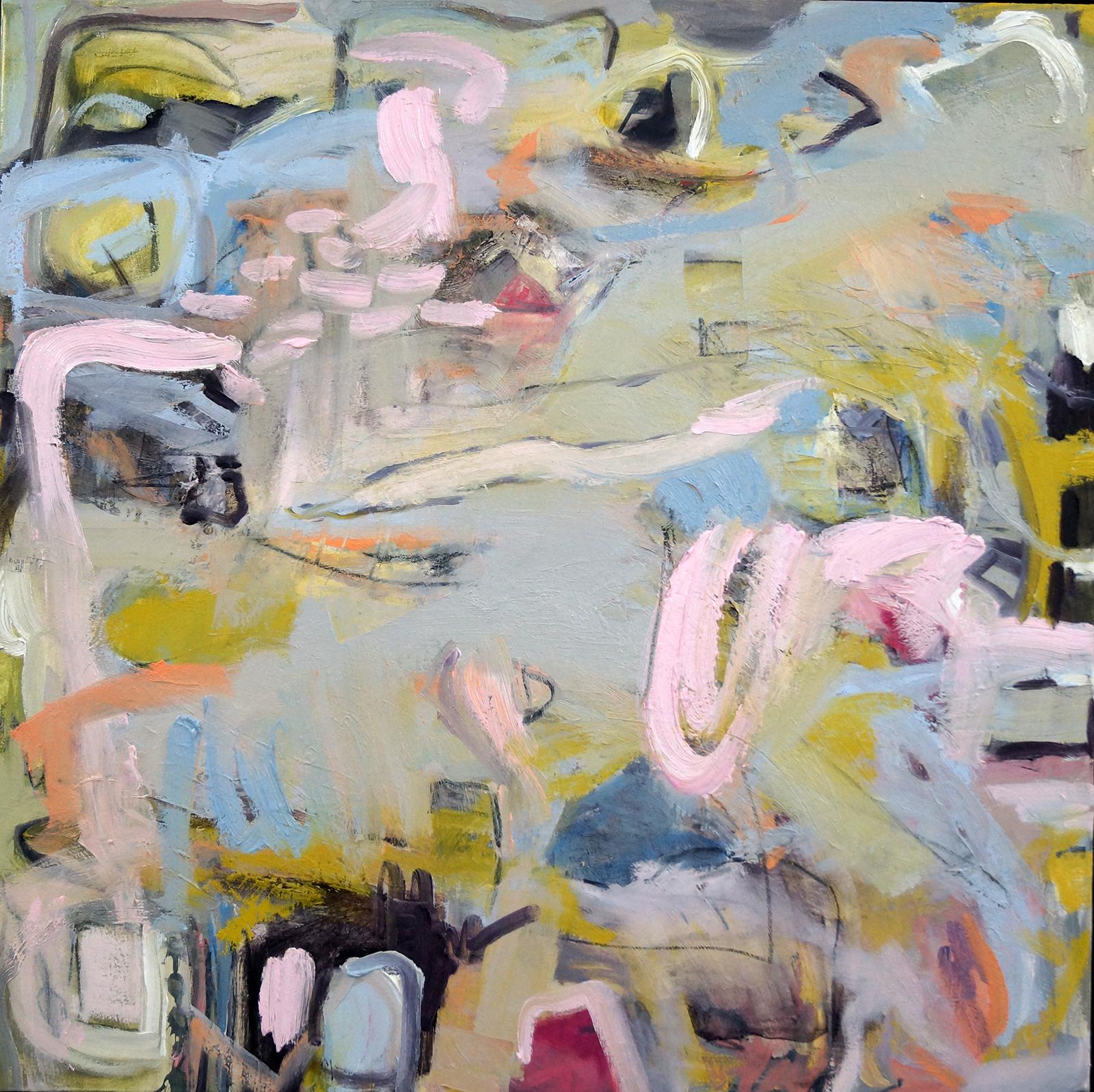 Rhapsody, 36x36, Mixed Media on Canvas