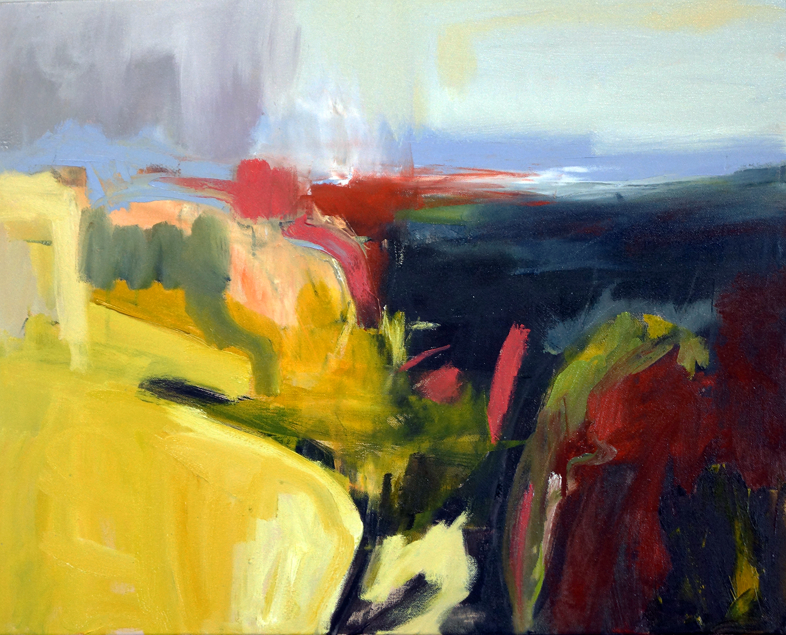 Hudson Valley Eight, 24x30, Oil on Canvas