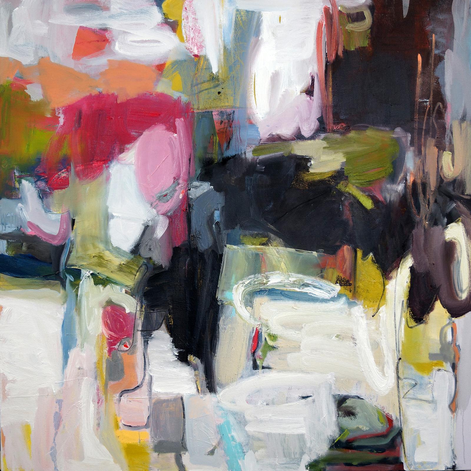 Prismacolors, 40x40, Oil on Canvas