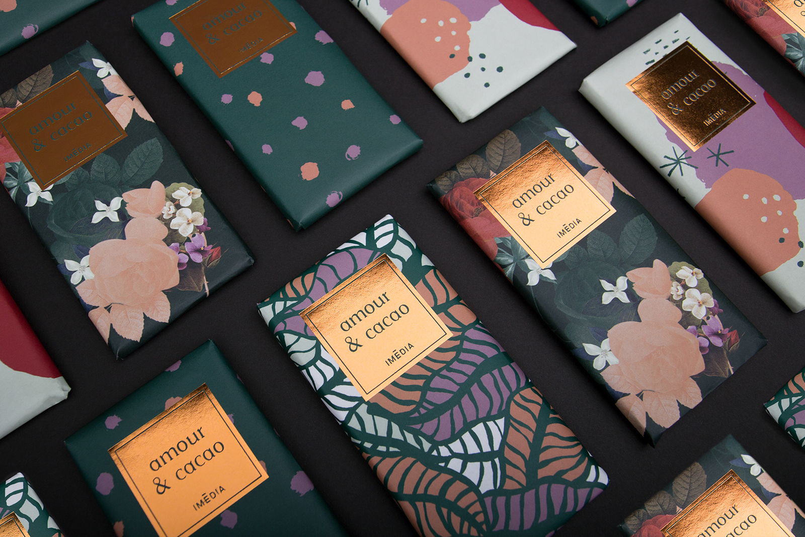 Packaging by Graphic Designers: Marie-Joëlle Lemire, Nicolas Lambert, Valérie Pilotte and Claudie Déry of Imédia Firme Creative.