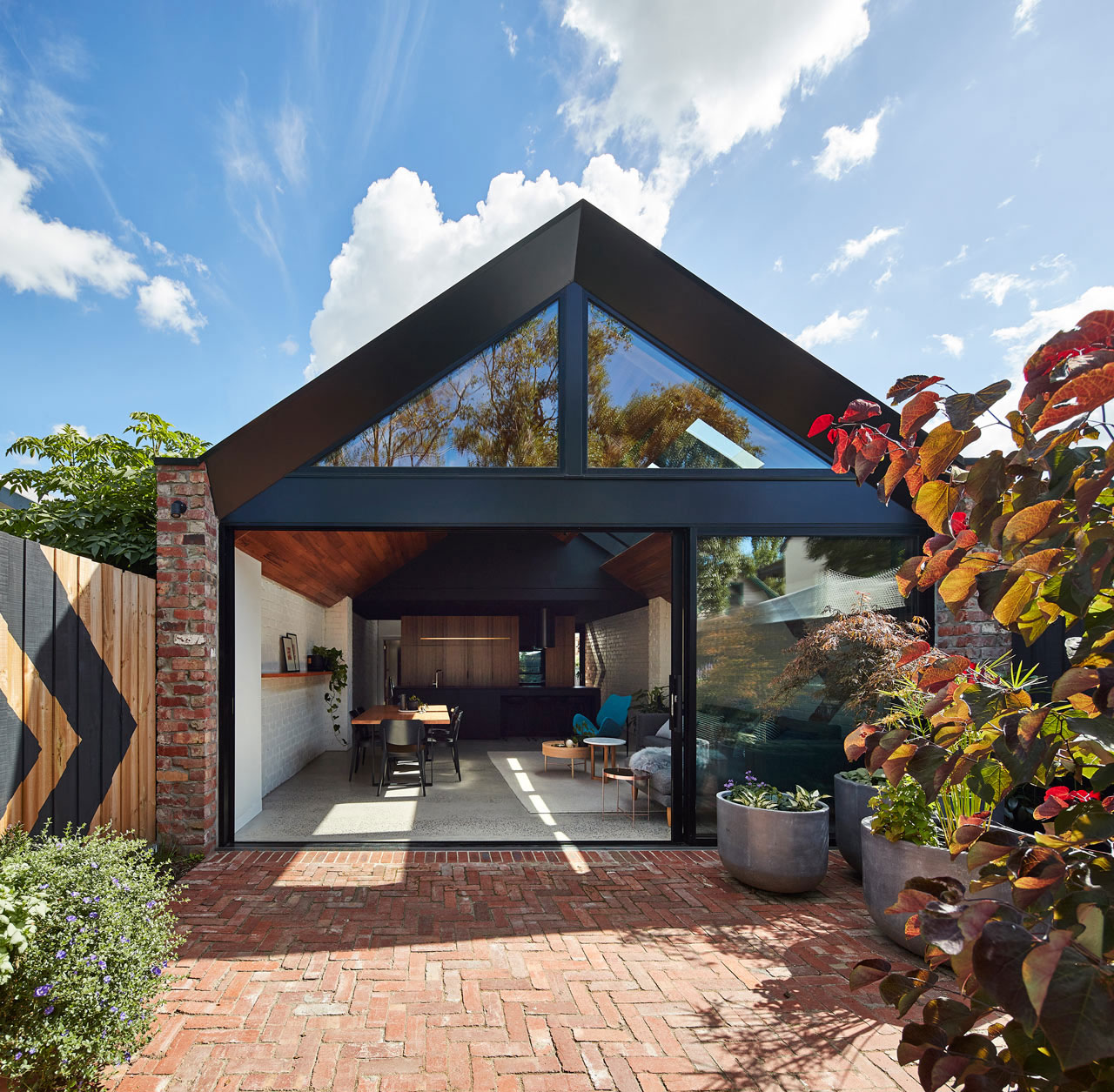 Valiant House  designed by  A for Architecture  Photo by Peter Bennetts