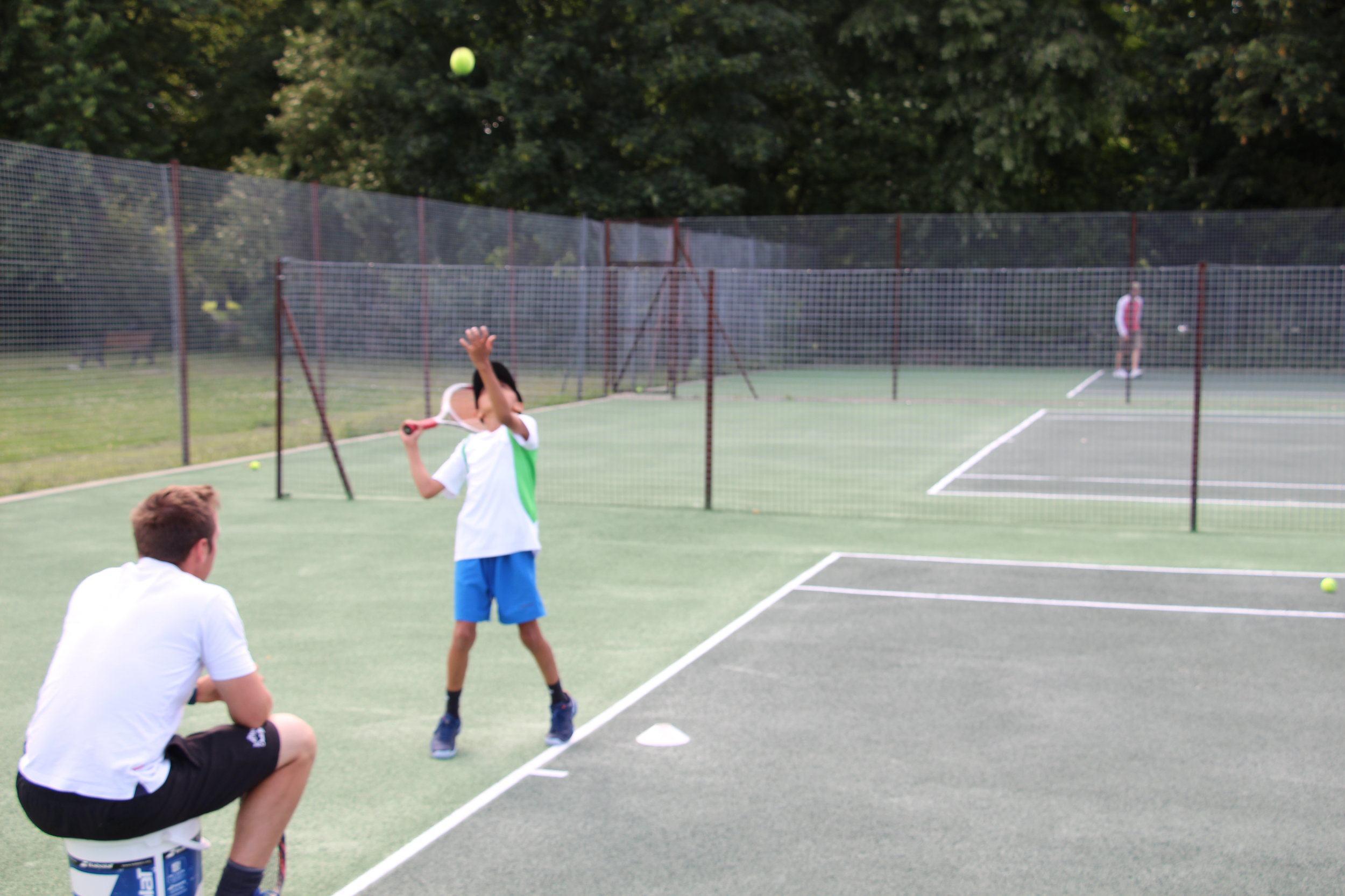 Summer Tennis Camps are a chance to get started in tennis or take your skills to a new level! (They're also a great way to keep kids busy during the holidays)