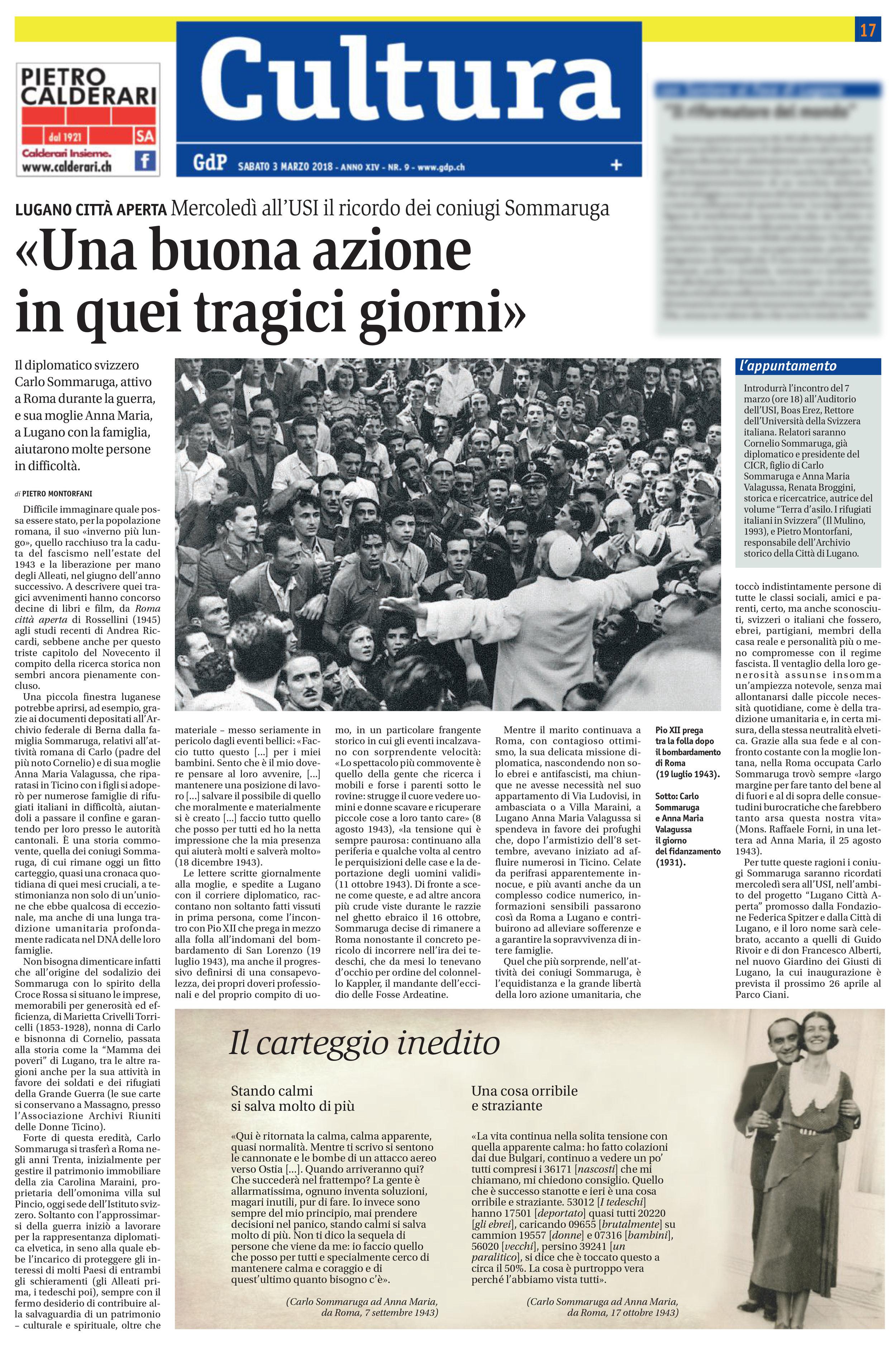 03.03.18 - Giornale del Popolo