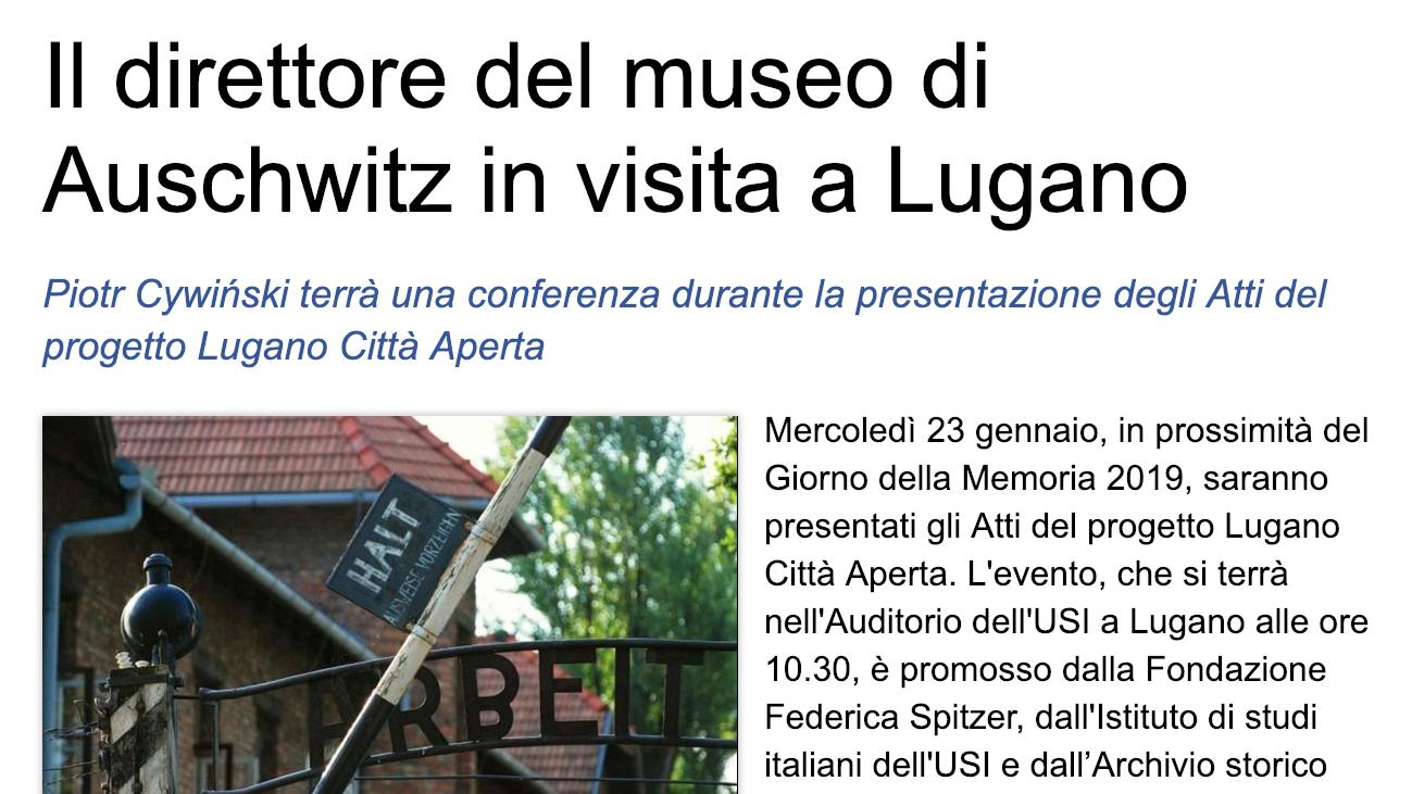 15.01.19 - Ticinonews