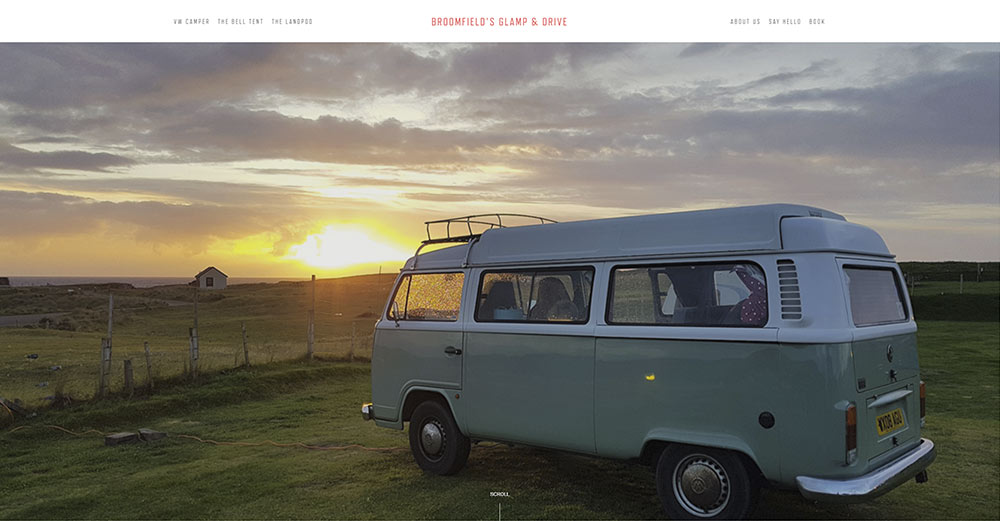Bloomfield Glamp & Drive -