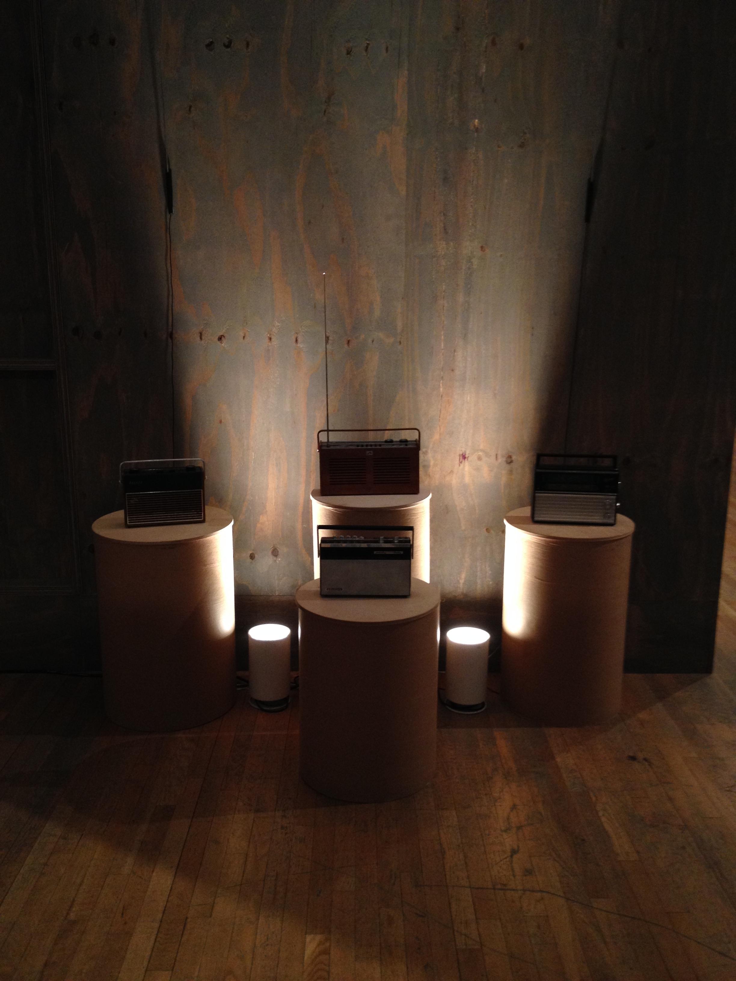 Radio Reconstructions, Design Museum, 2013