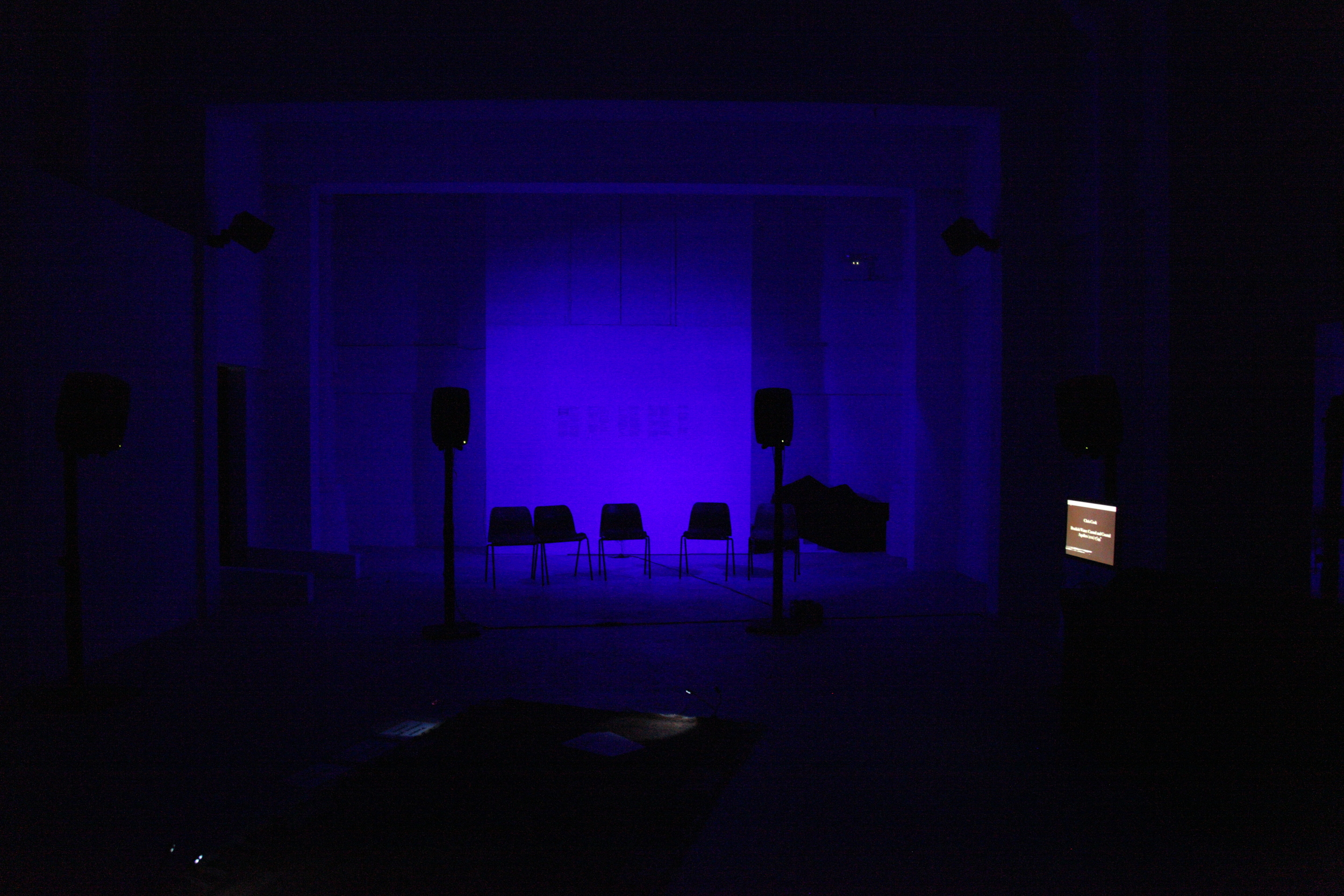 8-channel Soundscape Room, Sho-Zyg, 2012