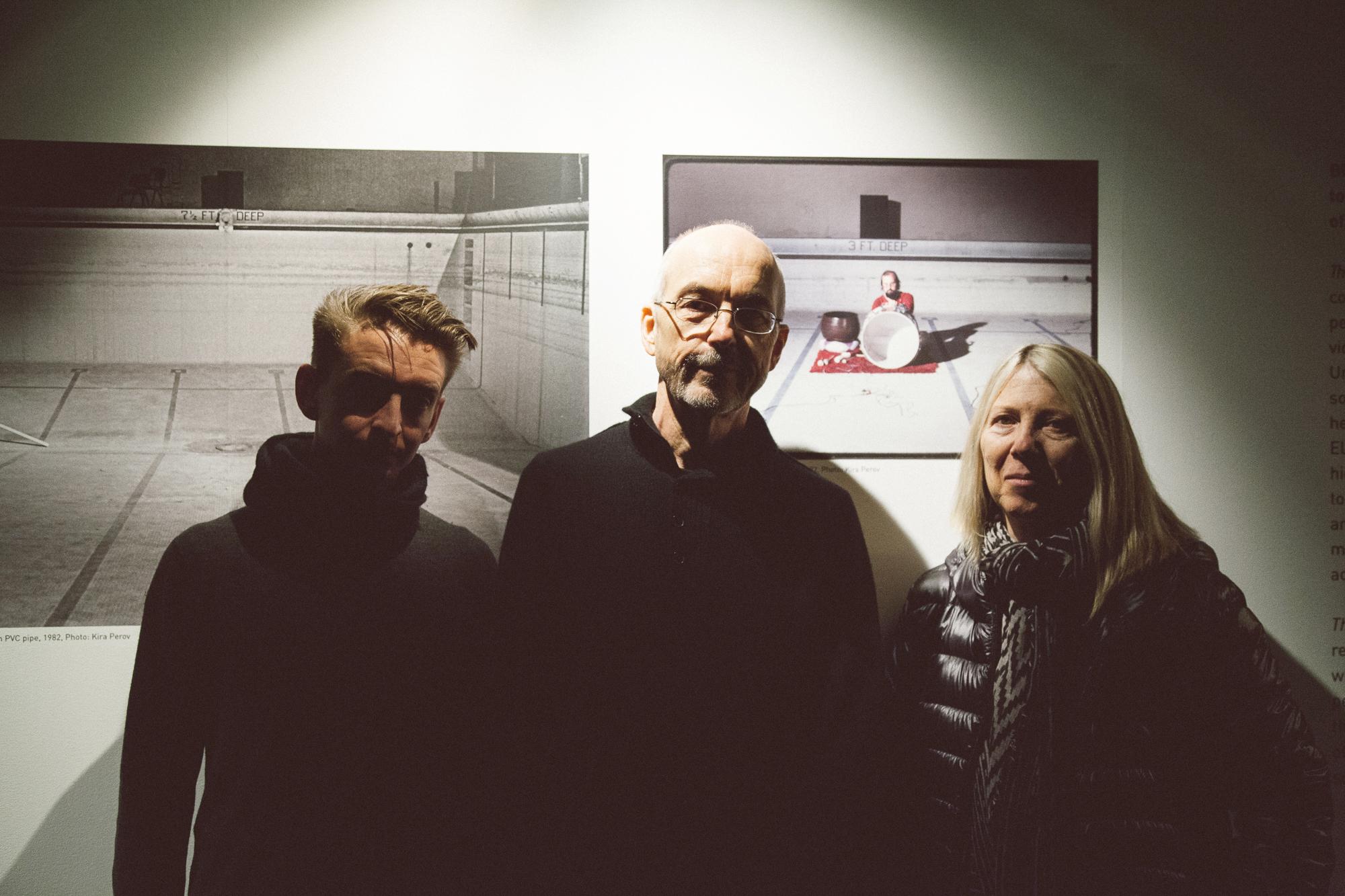 James Bulley, Bill Viola and Kira Perov