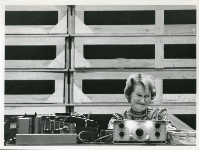 Daphne Oram, courtesy of Oram Trust and Fred Wood