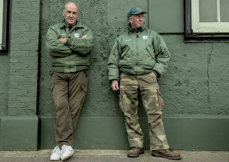 Gary and Tony - Groundsmen