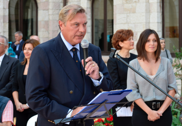HRH during a recent Pilgrimage to Assisi.