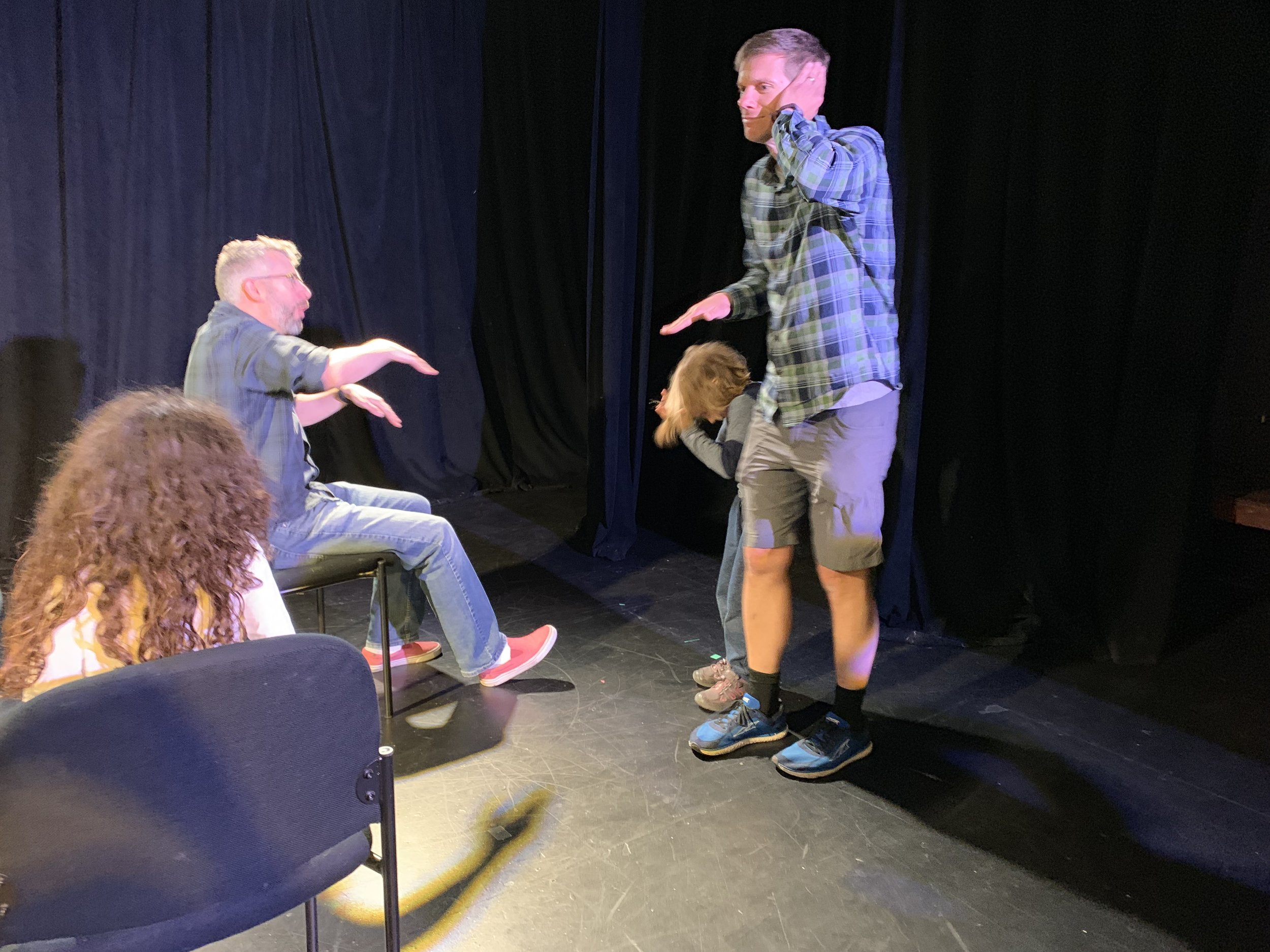 Playlabs - Playful improv workshops for families, offered throughout the Twin Cities.