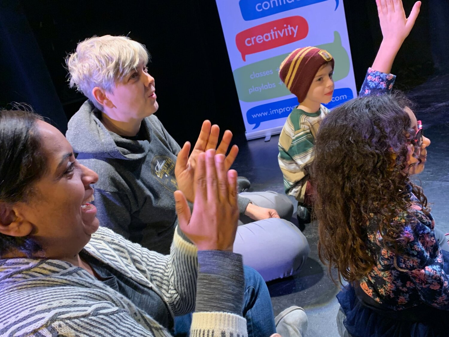 Family Improv Class - Enrich communication, connect playfully