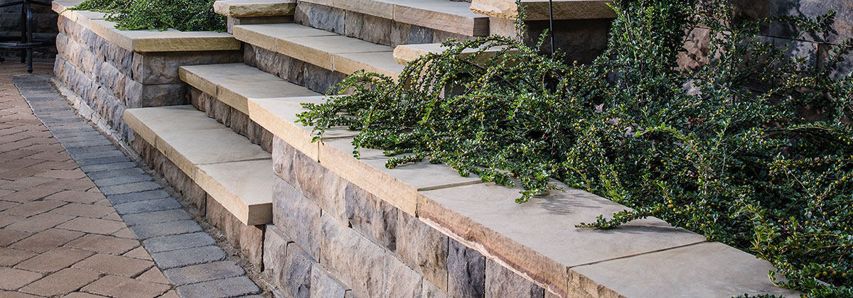 The new Belair Wall System from Belgard.