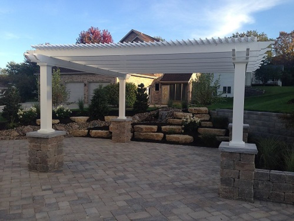 Freestanding_white_vinyl_pergola_-_7_square_columns_mounted_on_stone_pillars,_75_shade_option_1000_751_87shar-60-.5-3_s.JPG