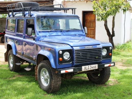 Our Landrover Fresh Off The Boat From England In 2012
