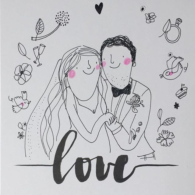 L O V E  #natasha&stuart  #weddingcard #wedding #hochzeitsillustration #lovehandlettering #illustration #illustrativheiraten #illustrationart #illustrator #berlin #weddinginspiration #weddingillustration #weddingday #love