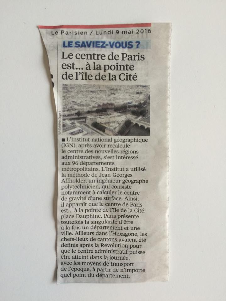 Source :  Le Parisien, 9 mai 2016
