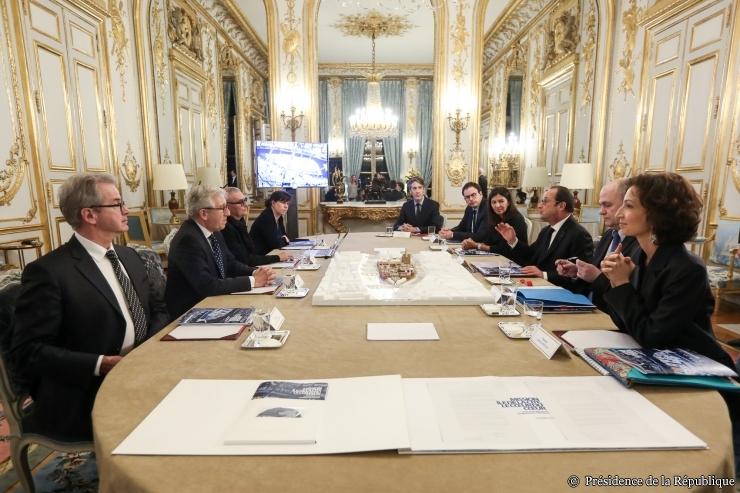 © Présidence de la République - F. Lafite