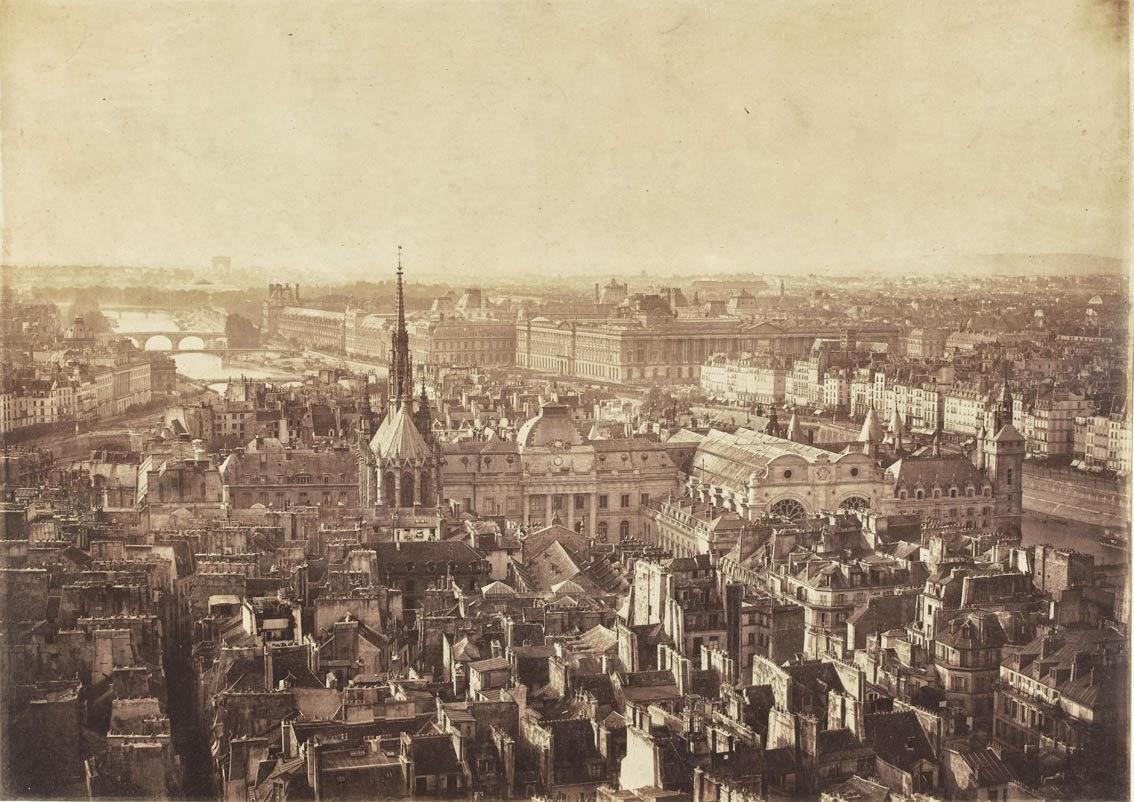 Frères Bisson, Paris, panorama de la Seine   Photo (C) RMN-Grand Palais (musée d'Orsay) / Hervé Lewandowski   Source:  Lien