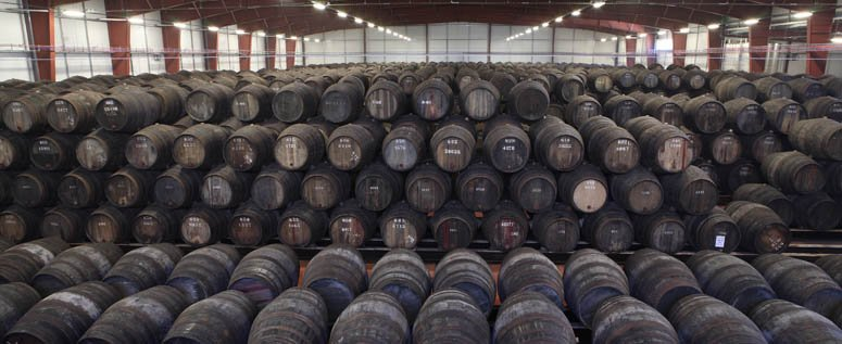 Casks of aging Port biding their time