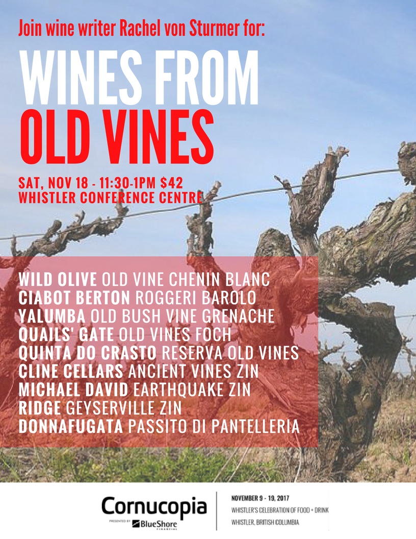 Wines from old vines seminar