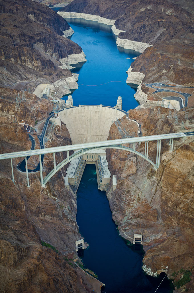 The Hoover Dam, a giant energy storage system