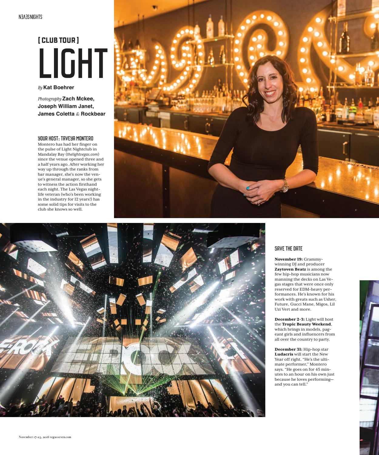 Light Nightclub for Vegas Seven Magazine
