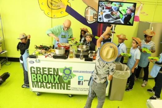 GBM Mobile Classroom Kitchen