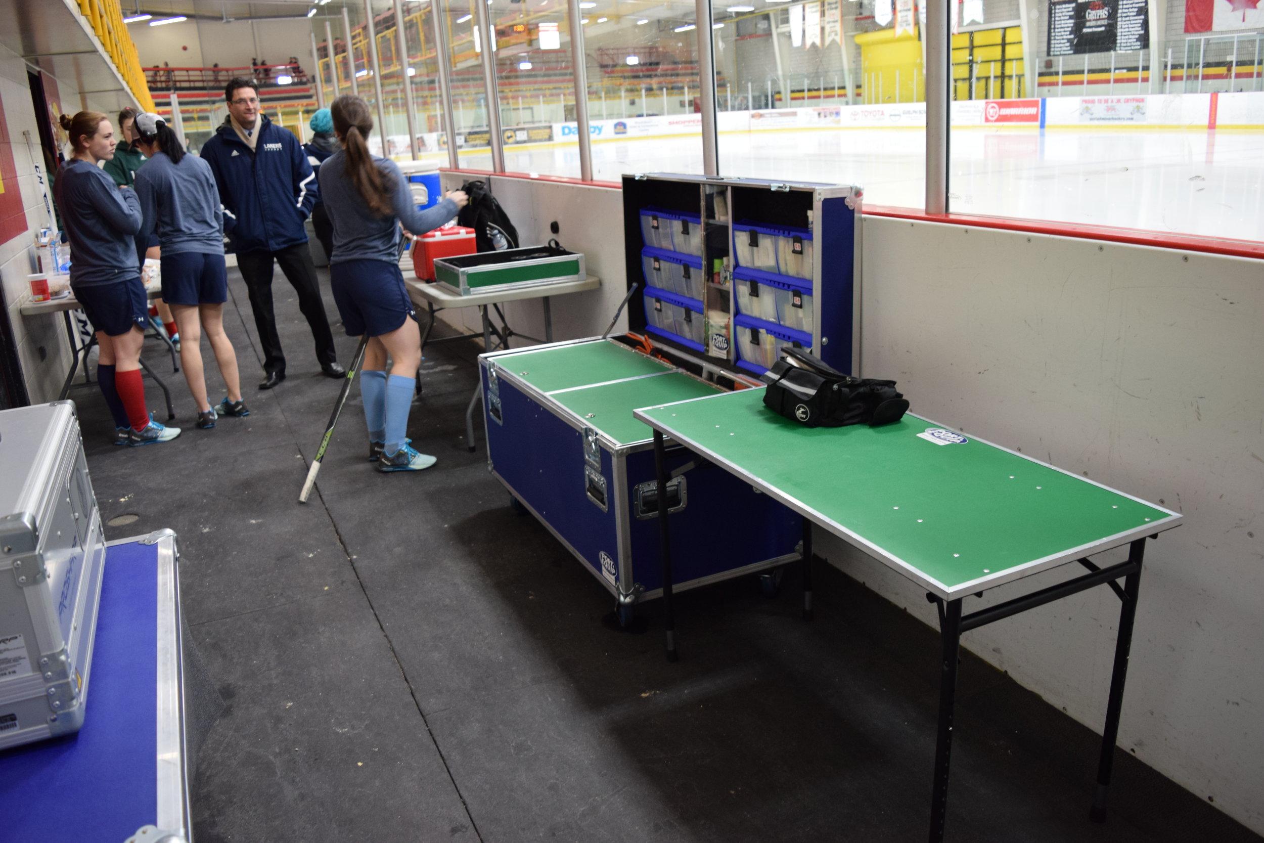 Nipissing U - Hockey Work Station
