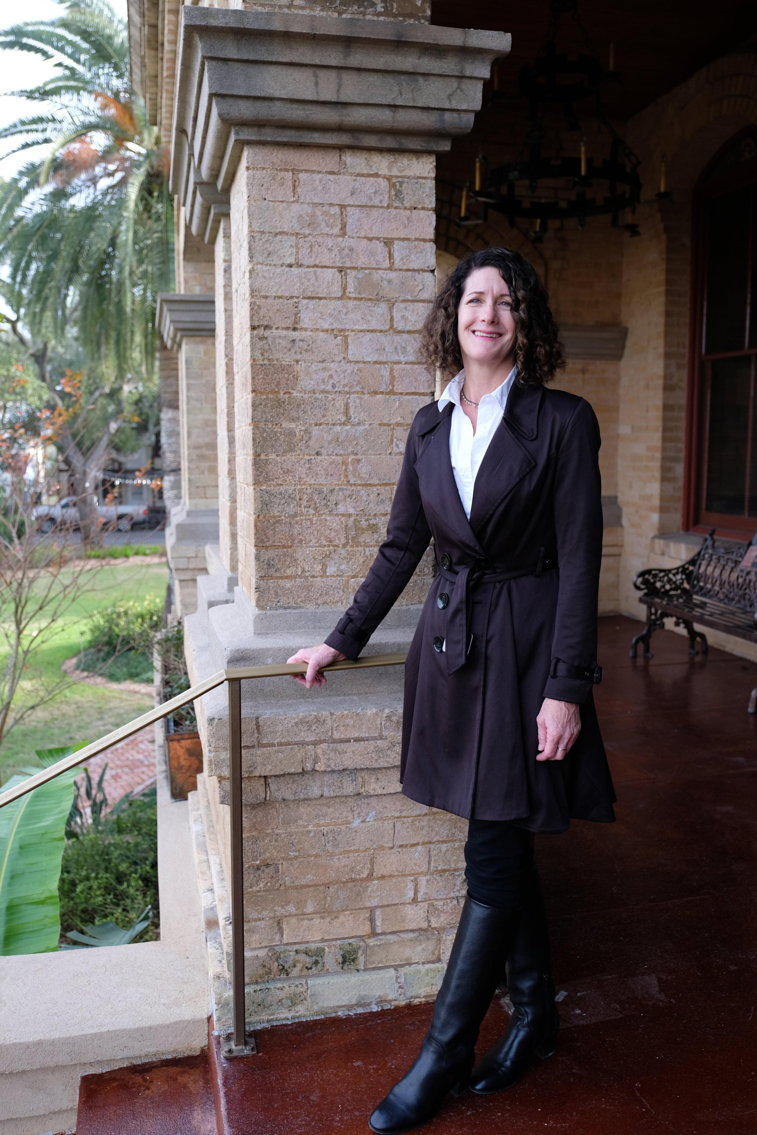 Dr. Jamie Christy, Executive Director, The Bryan Museum, Galveston, Texas