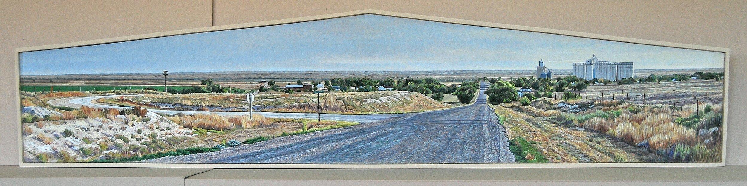"Lloyd Brown, ""Kendall, Kansas, US Highway 50,"""