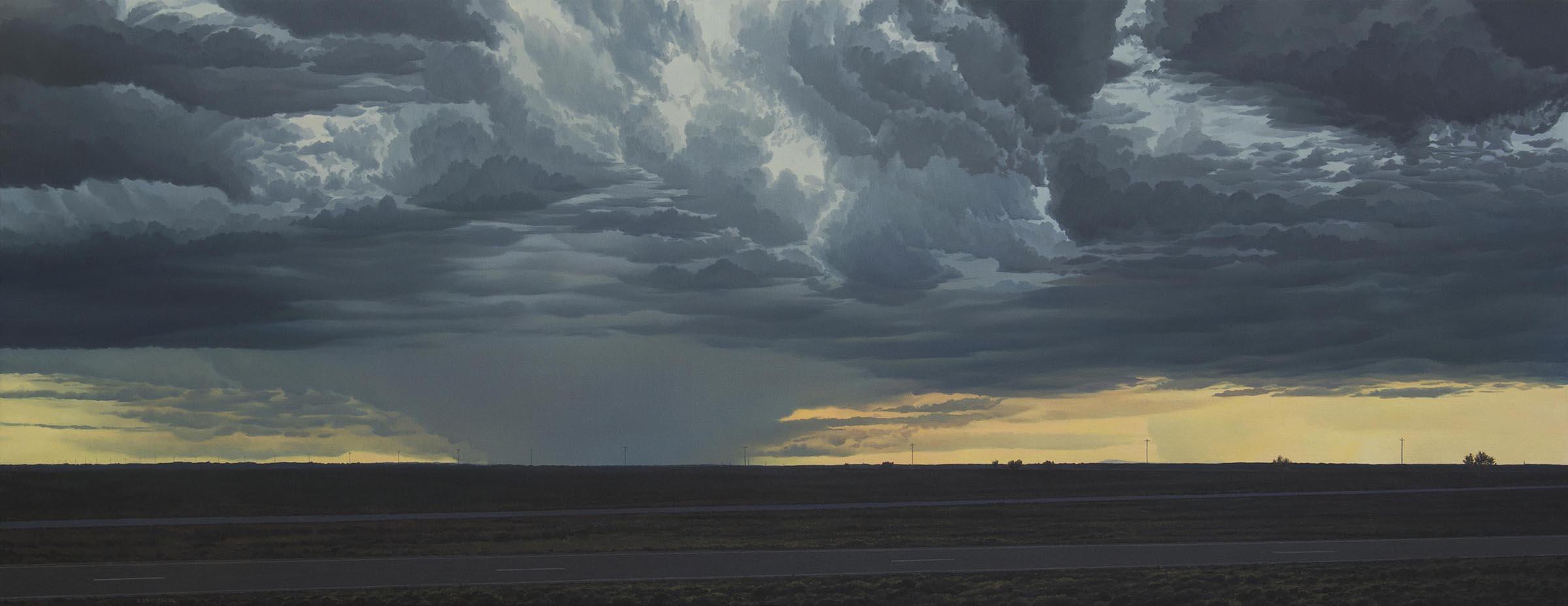 Pat Gabriel, Rain and Light, 2016