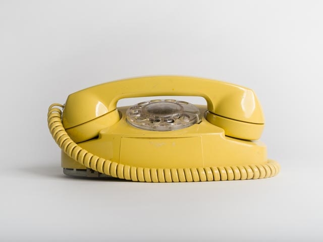 Paul Sokal,  Phone Before iPhone , 2017, digital print