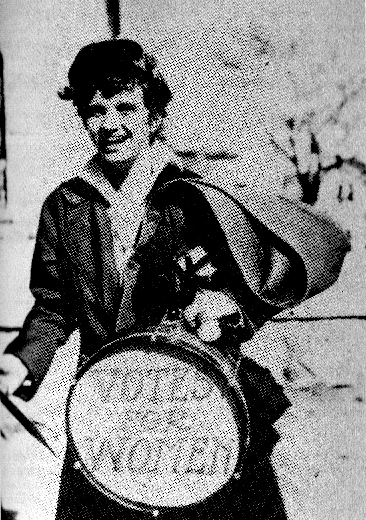 """The Campus Camera, Baylor University, 31 April 1915, vol. 1,3. The Texas Collection, Baylor University, Waco, Texas.  In 1915 Baylor University women in Waco, Texas organized a suffrage club and """"beat the drum"""" in campus parades. Courtesy The Texas Collection, Baylor University, Waco, Texas."""