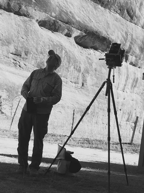 Robert Langham at work.