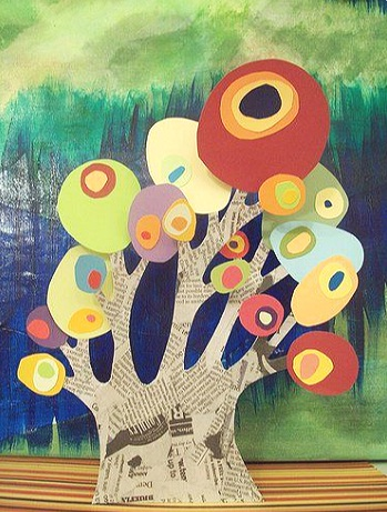 project - COLLAGE TREES