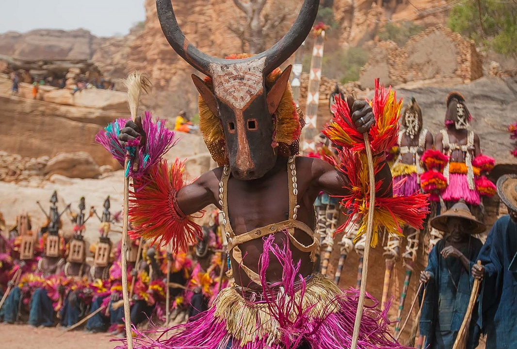 Traditional Masks of the Dogon Tribe