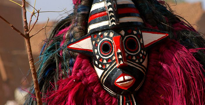 Traditional Masks of the Bwa Tribe