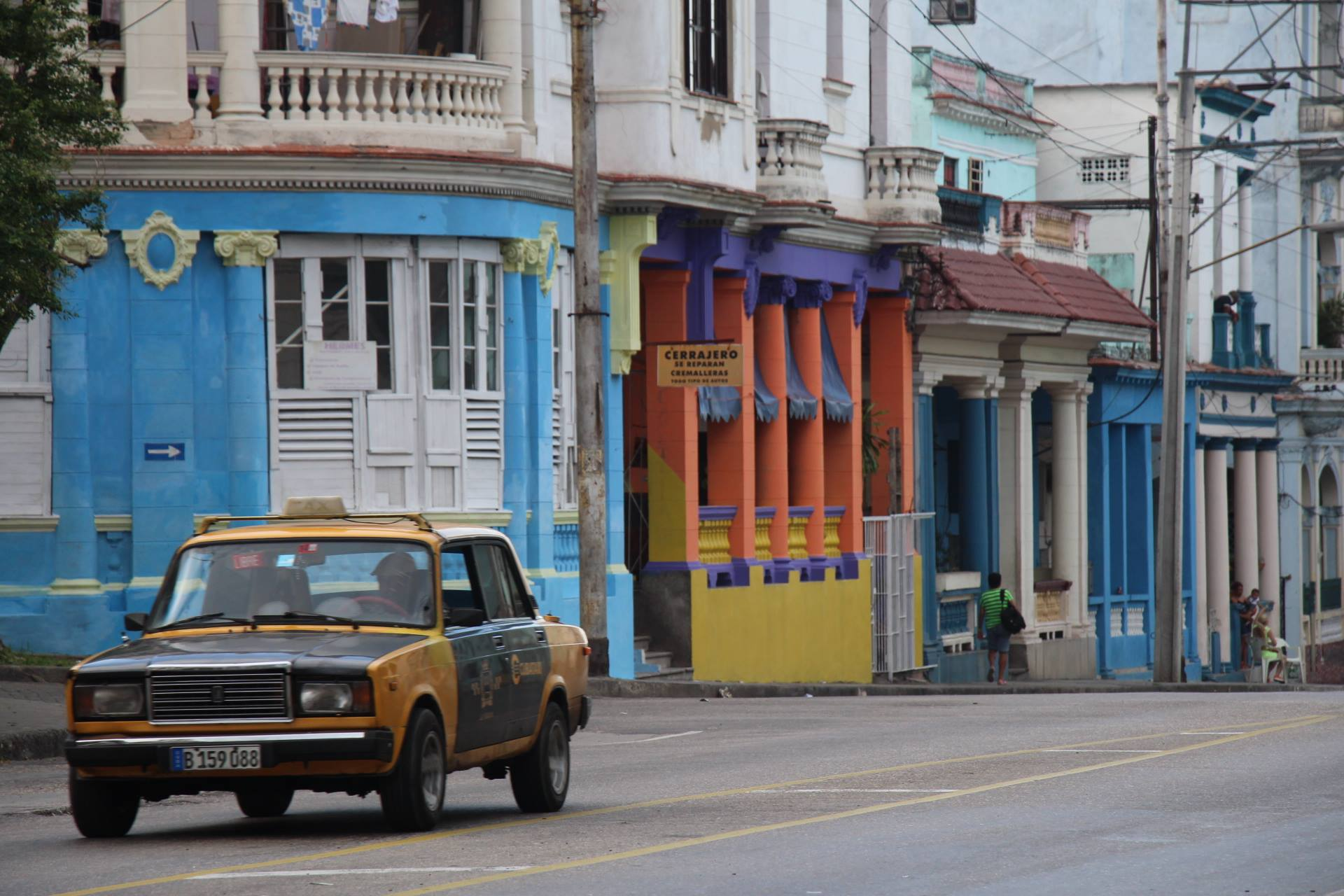 The contrast between the bright colors and the cold realities are the essence of Cuba.
