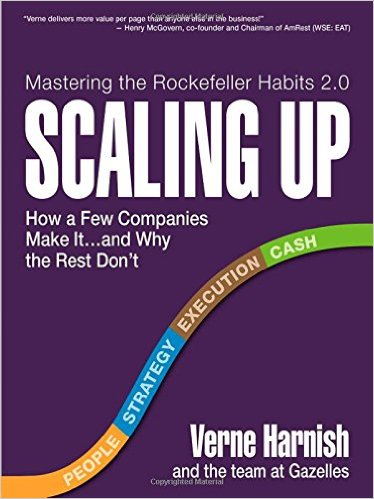 Scaling Up - Verne Harnish