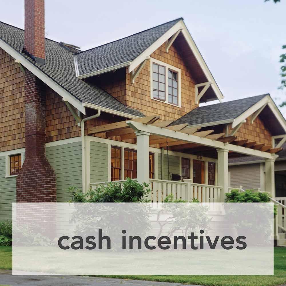 Heat pump incentives