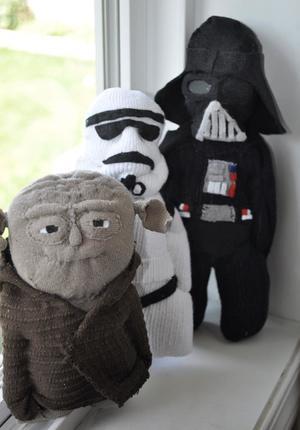 Yoda, Storm Trooper, Darth (Star Wars)