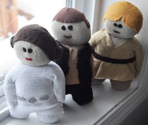 Leia, Hans, Luke (Star Wars)