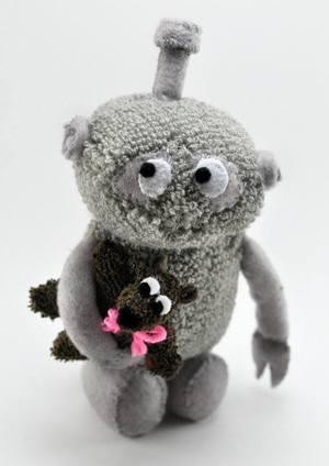 Robot (with tiny bear)