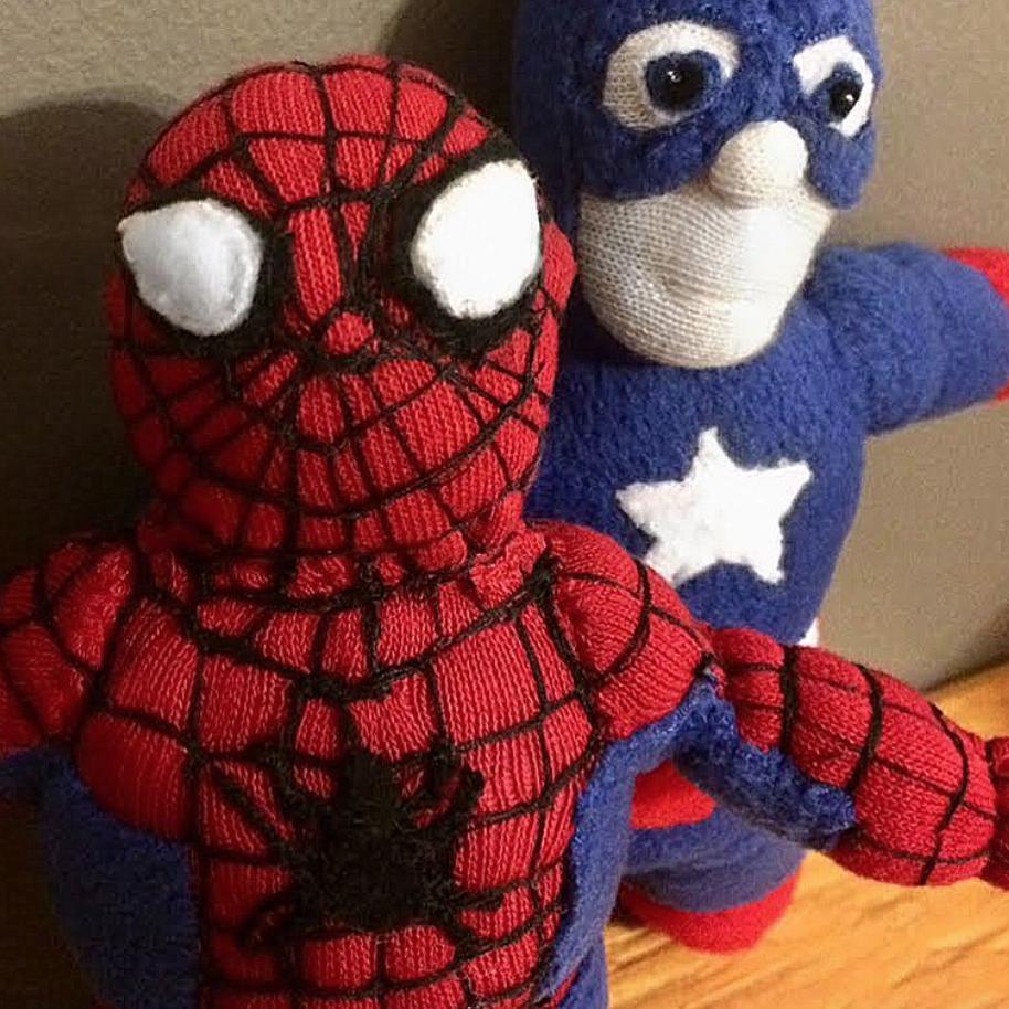 Spiderman & Captain America